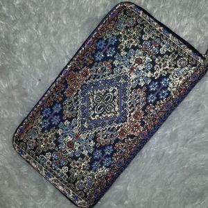 Boho gold woven wallet | Women